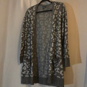 Torrid Leopard Print Cardigan - Never Worn!